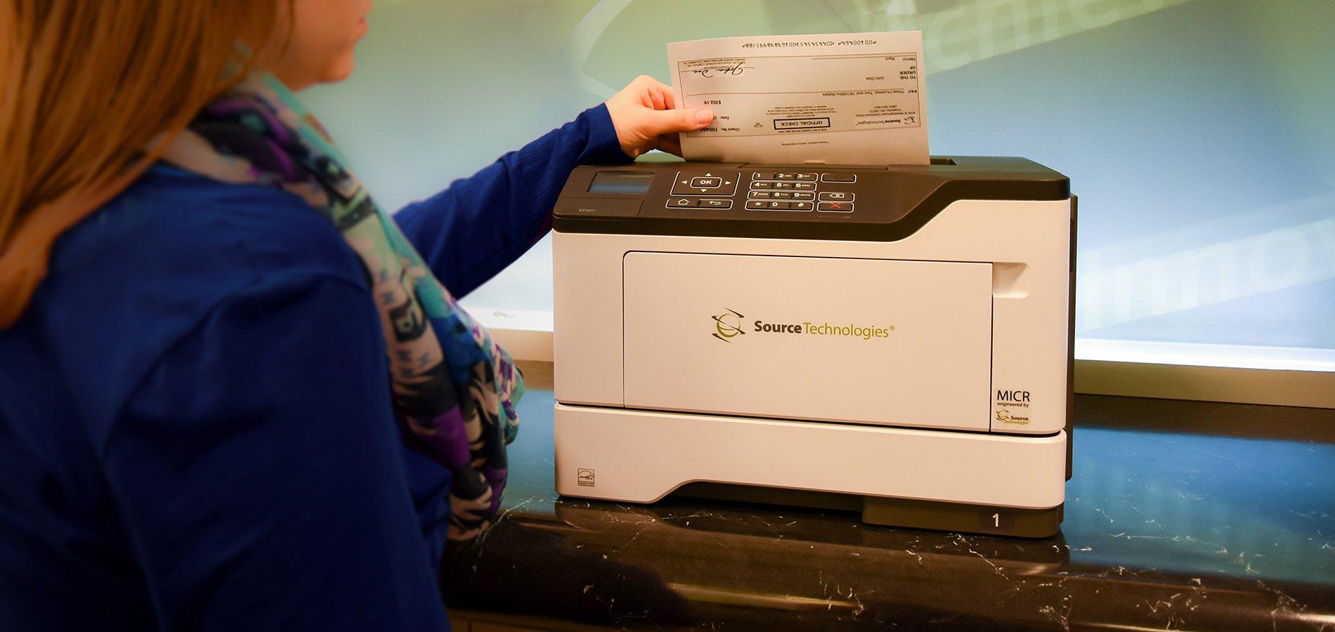Check Printing: Laser vs. InkJet
